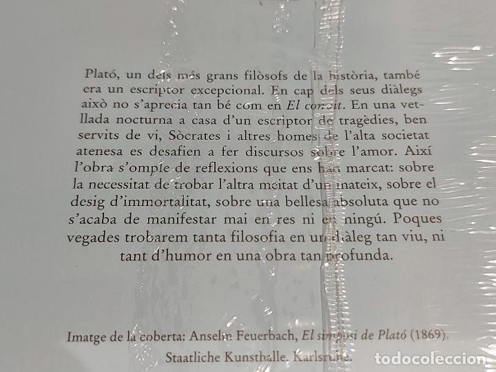 Libros: PLATÓ / EL CONVIT / BERNAT METGE ESSENCIAL / 3 / PRECINTADO A ESTRENAR. - Foto 2 - 227229090