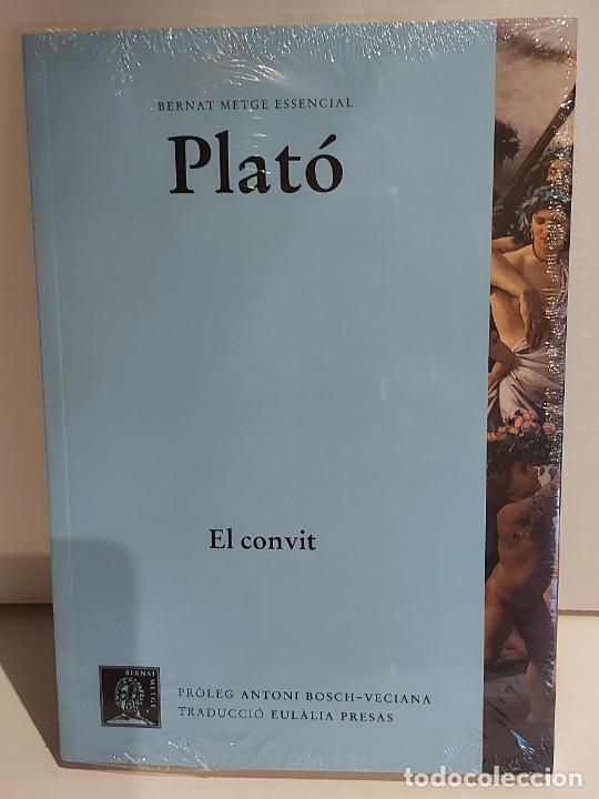 PLATÓ / EL CONVIT / BERNAT METGE ESSENCIAL / 3 / PRECINTADO A ESTRENAR. (Libros Nuevos - Humanidades - Filosofía)