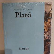Libros: PLATÓ / EL CONVIT / BERNAT METGE ESSENCIAL / 3 / PRECINTADO A ESTRENAR.. Lote 237252215