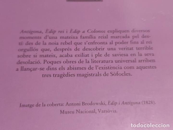 Libros: SÒFOCLES / VARIS / BERNAT METGE ESSENCIAL / 7 / PRECINTADO A ESTRENAR. - Foto 2 - 276643418