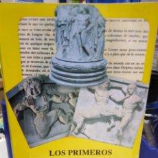 Libri: LOS PRIMEROS VIAJEROS A GRECIA Y EL IDEAL HELENICO-DAVID CONSTANTINE-1993,FONDO DE CULTURA ECONOMICA. Lote 227796415