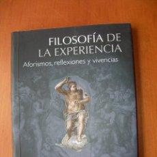 Libros: FILOSOFÍA DE LA EXPERIENCIA / ANDRÉS ORTIZ-OSÉS. Lote 228313376