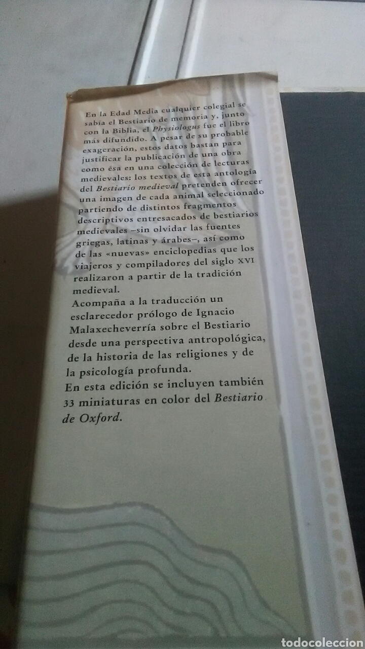 Libros: Bestiario medieval. Ediciones Siruela. Biblioteca Medieval. 1986. 1999 - Foto 3 - 228653625