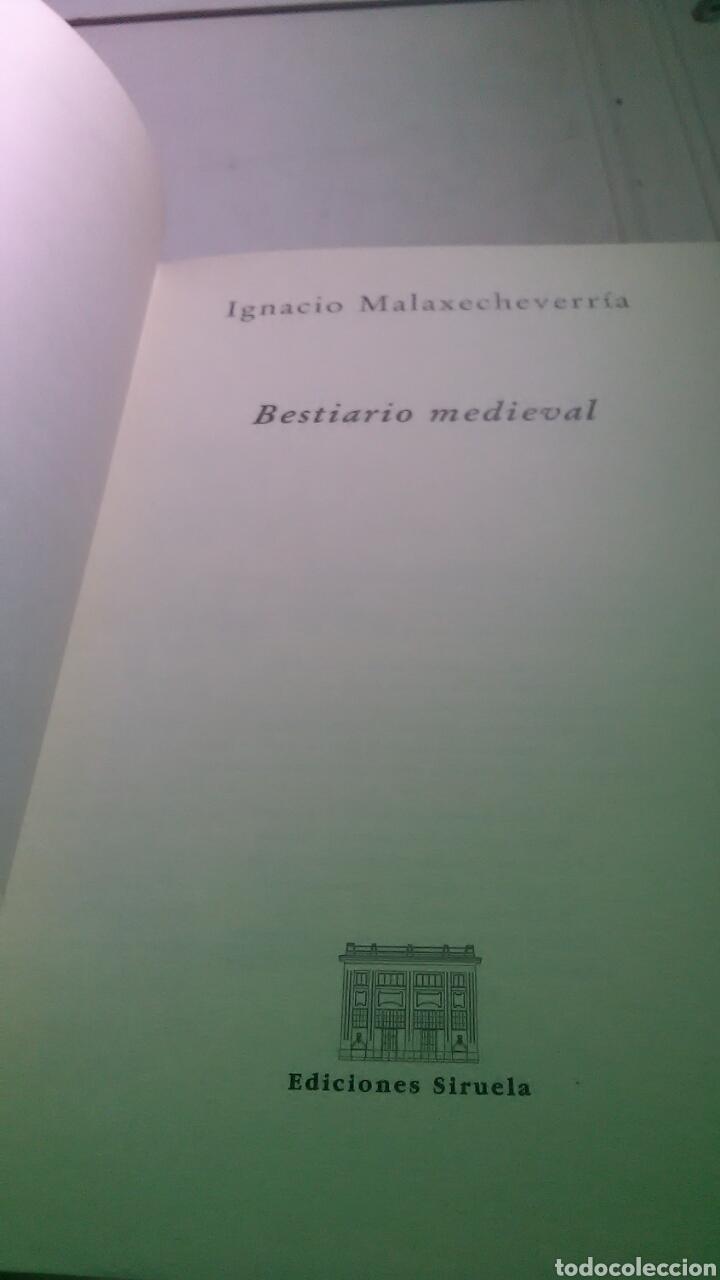 Libros: Bestiario medieval. Ediciones Siruela. Biblioteca Medieval. 1986. 1999 - Foto 5 - 228653625