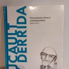 Libros: FOUCAULT Y DERRIDA / PENSAMIENTO FRANCÉS CONTEMPORÁNEO / DESCUBRIR LA FILOSOFÍA / 27 / PRECINTADO.. Lote 231301150