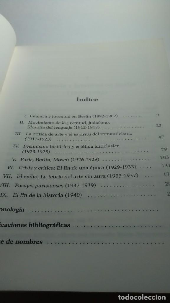 Libros: Walter Benjamín. Una biografía. Bernd Witte. Gedisa editorial. 2002 - Foto 3 - 232378085