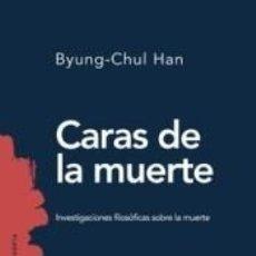 Libros: CARAS DE LA MUERTE. Lote 234301020