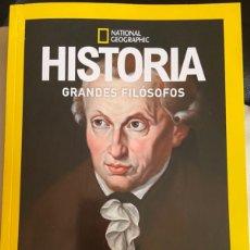 Libros: KANT GRANDES FILÓSOFOS HISTORIA NATIONAL GEOGRAPHIC- NUEVO. Lote 234687145