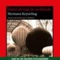 Libros: DIARIO DE VIAJE DE UN FILÓSOFO. Lote 236527325