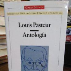 Livros: ANTOLOGÍA/LOUIS PASTEUR-OPERA MUNDI-CIENCIA-1996. Lote 239548700