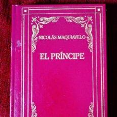 Libros: MAQUIAVELO: EL PRÍNCIPE. Lote 243221095