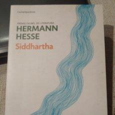 Libros: HERMAN HESSE. SIDDHARTHA. DEBOLSILLO. LITERATURA CONTEMPORÁNEA. Lote 243311375
