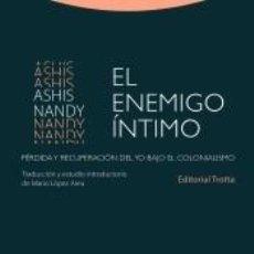 Libros: EL ENEMIGO ÍNTIMO. Lote 243349010