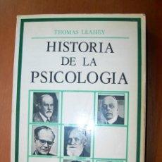 Libros: HISTORIA DE LA PSICOLOGÍA / THOMAS LESHEY. Lote 243686370