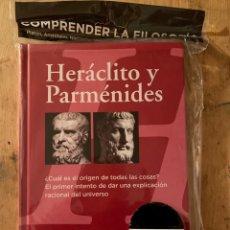 Libros: FILOSOFÍA - HERACLITO Y PARMÉNIDES - LIBRO NUEVO. Lote 243831395