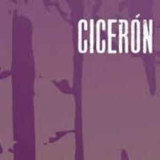 Libros: CICERÓN - ACERCA DE LA VEJEZ. Lote 243963050