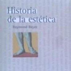 Libros: HISTORIA DE LA ESTETICA. Lote 244008020