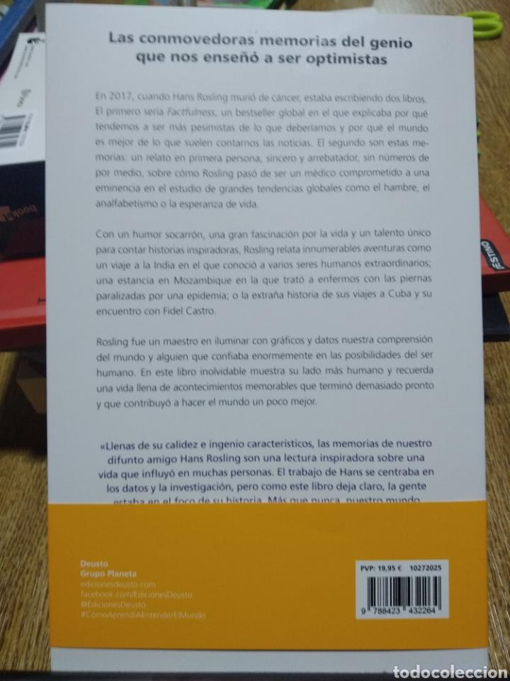 Libros: Cómo aprendí a entender el mundo Memorias póstumas. Hans Rosling. novedad editorial - Foto 2 - 251374400