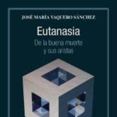 Libros: EUTANASIA. Lote 254394280
