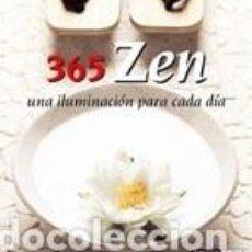 Libros: 365 ZEN. Lote 256155920