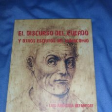 Libros: LIBRO EL EL DISCURSO DEL CUERDO Y OTROS ESCRITOS DEL MANICOMIO. Lote 257330715