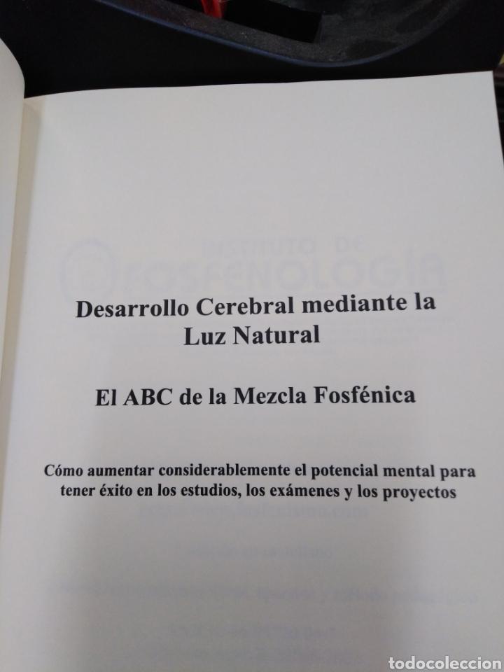 Libros: EXPANSIÓN CEREBRAL POR LA LUZ NATURAL-EL ABC DE LA MEZCLA FOSFENICA-DANIEL STIENNON-2002 - Foto 4 - 257397610