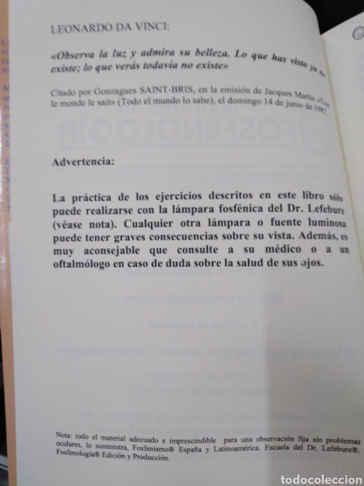 Libros: EXPANSIÓN CEREBRAL POR LA LUZ NATURAL-EL ABC DE LA MEZCLA FOSFENICA-DANIEL STIENNON-2002 - Foto 6 - 257397610