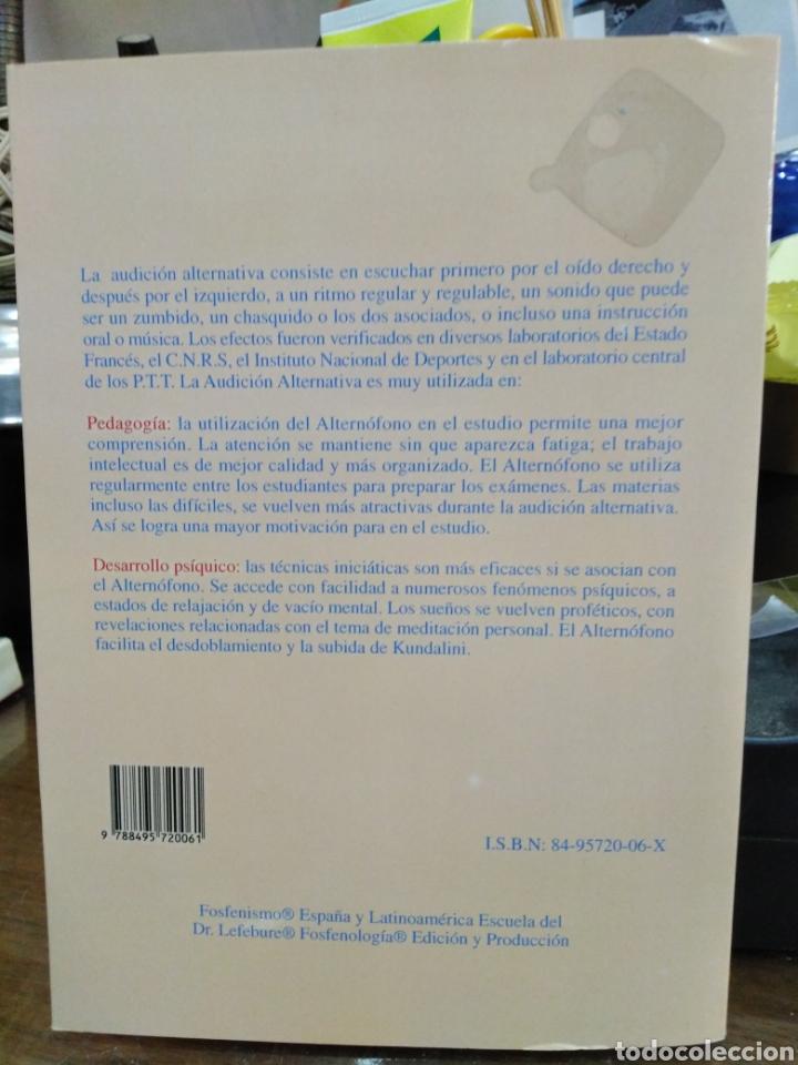Libros: EXPANSIÓN CEREBRAL POR MEDIO DE LA AUDICIÓN ALTERNTIVA-FRANCIS LEFEBURE-2002 - Foto 3 - 257398125