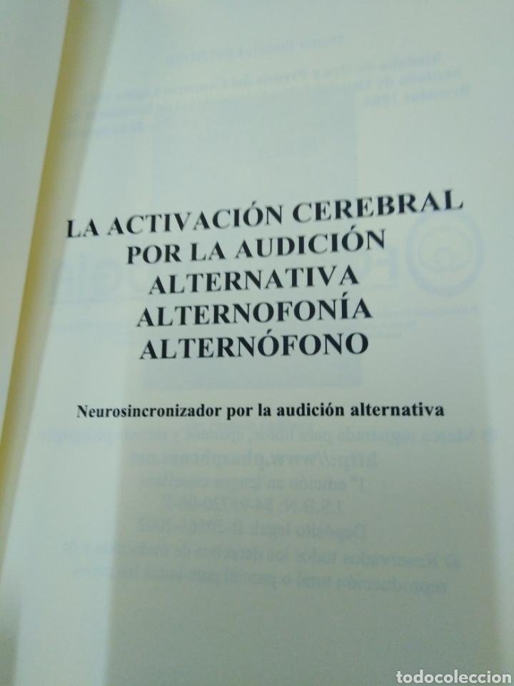 Libros: EXPANSIÓN CEREBRAL POR MEDIO DE LA AUDICIÓN ALTERNTIVA-FRANCIS LEFEBURE-2002 - Foto 4 - 257398125