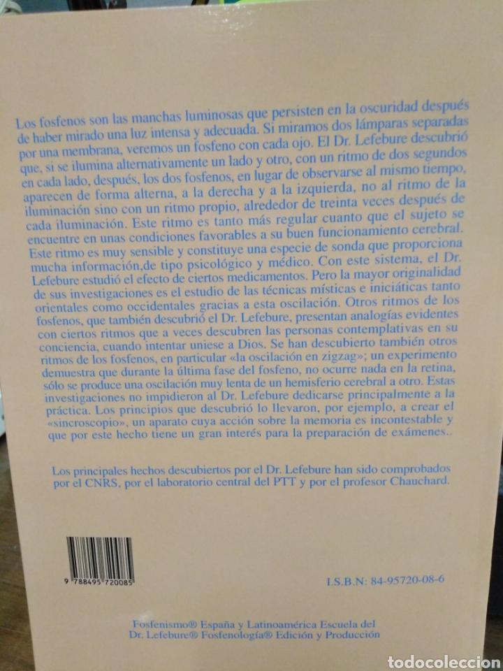 Libros: LA EXPLORACIÓN DEL CEREBRO MEDIANTE LOS OSCILACIONES DE LOS FOSFENOS DOBLES-FRANCIS LEFEBURE-2002 - Foto 3 - 257398430