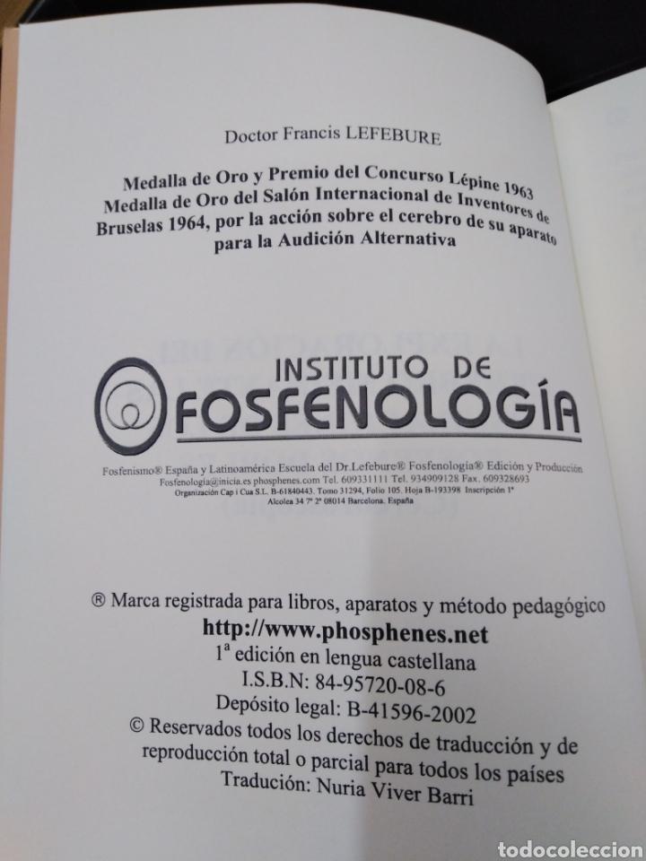 Libros: LA EXPLORACIÓN DEL CEREBRO MEDIANTE LOS OSCILACIONES DE LOS FOSFENOS DOBLES-FRANCIS LEFEBURE-2002 - Foto 5 - 257398430