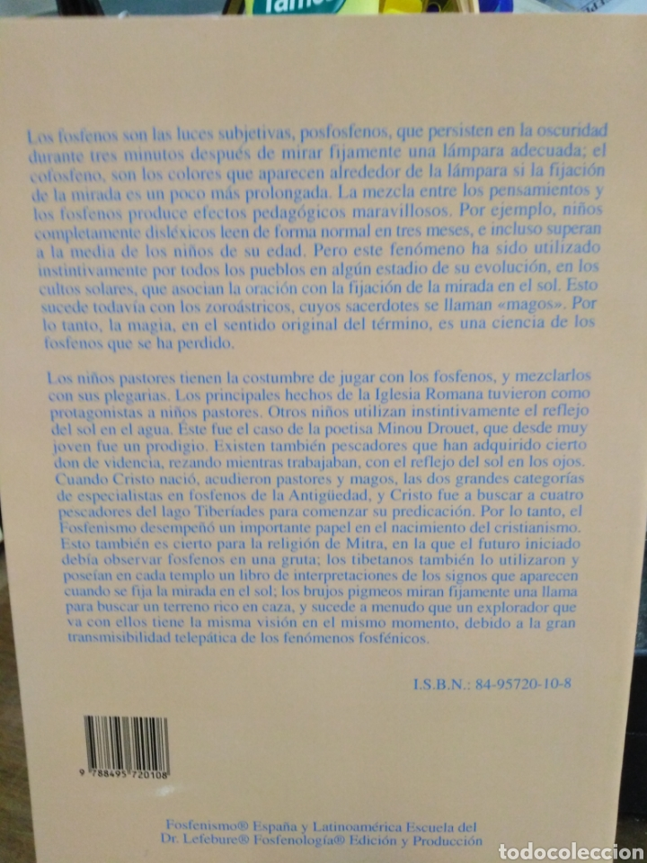 Libros: NUEVA EXPLICACIÓN DEL ORIGEN DE LAS RELIGIONES EL FOSFENISMO-FRANCIS LEFEBURE-2002 - Foto 3 - 257398790