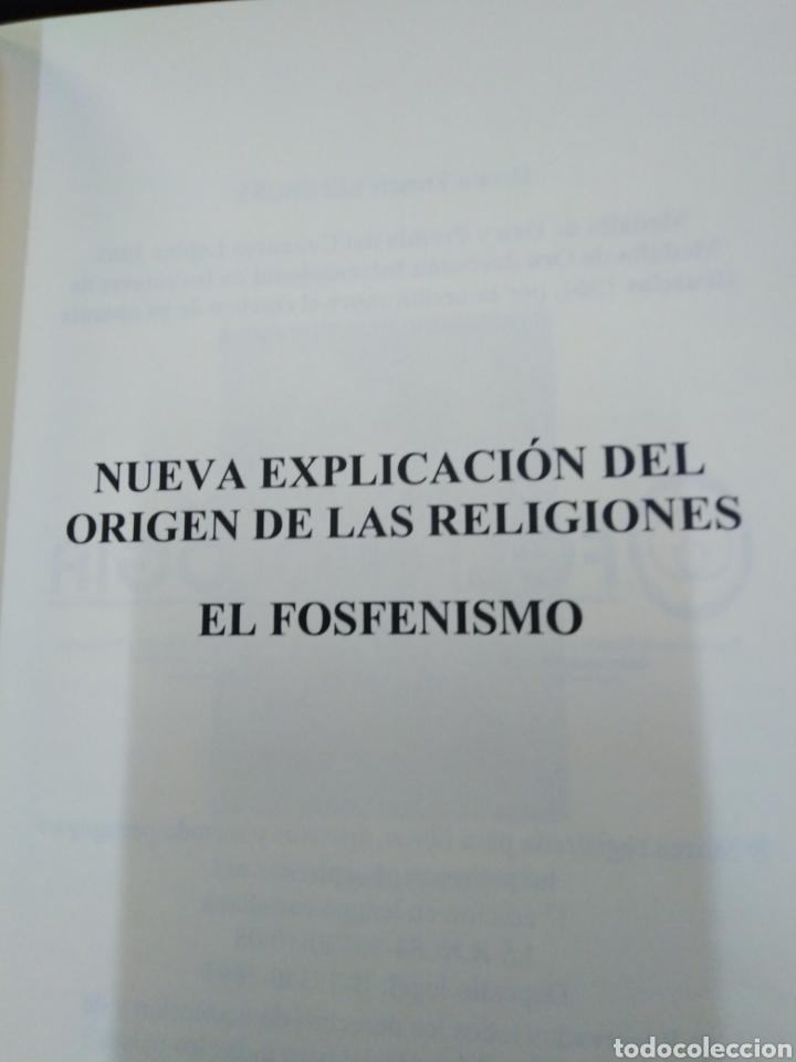 Libros: NUEVA EXPLICACIÓN DEL ORIGEN DE LAS RELIGIONES EL FOSFENISMO-FRANCIS LEFEBURE-2002 - Foto 4 - 257398790