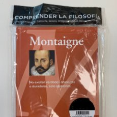 Libros: FILOSOFÍA - MONTAIGNE - NUEVO. Lote 257434340