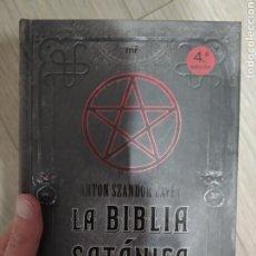Libros: LA BIBLIA SATÁNICA, ANTON SZANDOR LAVEY. Lote 261636765