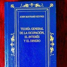 Libros: KEYNES: TEORÍA GENERAL DE LA OCUPACIÓN - NUEVO. Lote 263191205