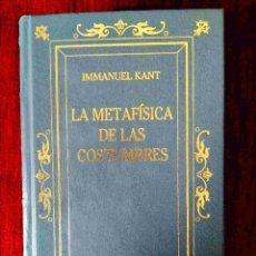 Libros: KANT: LA METAFÍSICA DE LAS COSTUMBRES - NUEVO. Lote 263192335