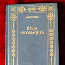 Libros: ARISTÓTELES: ÉTICA NICOMÁQUEA - NUEVO. Lote 263193290