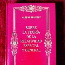 Libros: EINSTEIN: TEORÍA DE LA RELATIVIDAD - NUEVO. Lote 263193510