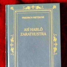 Libros: NIETZSCHE: ASÍ HABLÓ ZARATHUSTRA - NUEVO. Lote 263193860