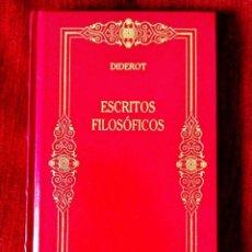 Libros: DIDEROT: ESCRITOS FILOSÓFICOS - NUEVO. Lote 263194205