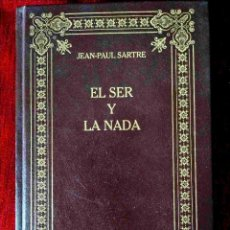 Libros: SARTRE: EL SER Y LA NADA - NUEVO. Lote 263199190