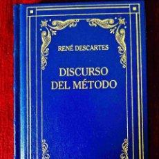 Libros: DESCARTES: DISCURSO DEL MÉTODO - NUEVO. Lote 263199315