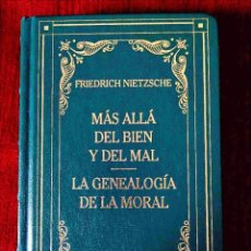 Libros: NIETZSCHE: MÁS ALLÁ DEL BIEN / GENEALOGÍA DE LA MORAL - NUEVO. Lote 263199380