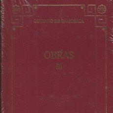 Libros: COLECCIÓN COLECCIÓN CLASICOS GRECOLATINOS (MÁS DE 120 TOMOS).(EJEMPLO,LA FOTO).. Lote 263199785