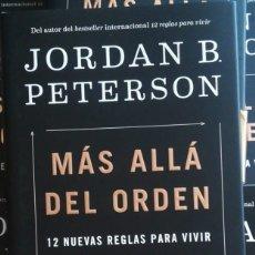 Libros: MÁS ALLÁ DEL ORDEN 12 NUEVAS REGLAS PARA VIVIR JORDAN B. PETERSON. Lote 263794560