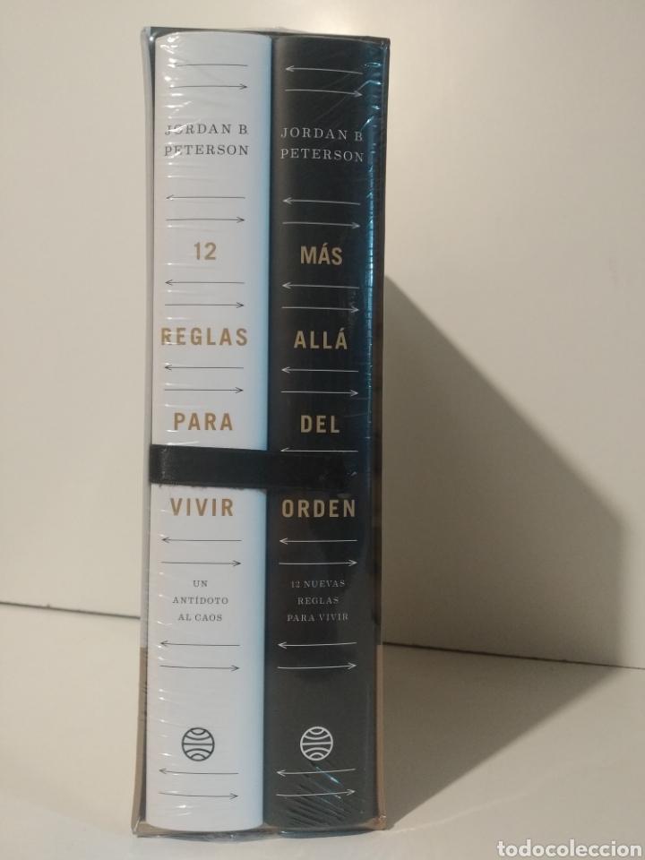 ESTUCHE ORDEN Y CAOS 24 REGLAS PARA VIVIR 12 REGLAS PARA VIVIR MÁS ALLÁ DEL ORDEN JORDAN PETERSON. (Libros Nuevos - Humanidades - Filosofía)