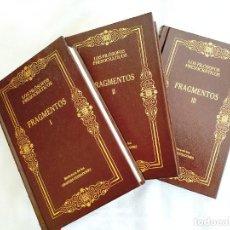 Libros: LOS FILÓSOFOS PRESOCRÁTICOS (FRAGMENTOS I, II Y III - OBRA COMPLETA) - NUEVOS. Lote 266283328
