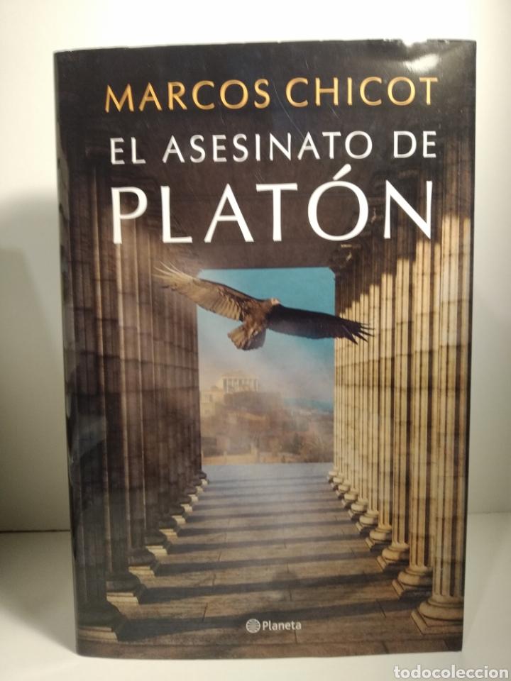 Libros: El asesinato de Platón Marcos Chicot - Foto 3 - 264564209
