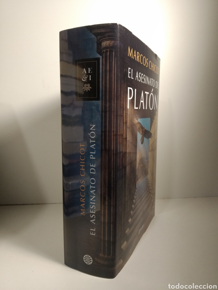 Libros: El asesinato de Platón Marcos Chicot - Foto 4 - 264564209